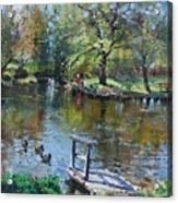 Spring Again Acrylic Print