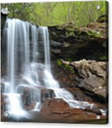 Spring At B. Reynolds Falls Acrylic Print