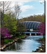 Spring At Crystal Bridges Acrylic Print