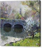 Spring At Delaware Lake Buffalo Acrylic Print