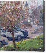 Spring At Main St North Tonawanda Acrylic Print