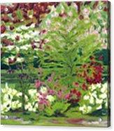Spring At Osage Land Trust II Acrylic Print