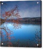 Spring At The Lake Acrylic Print