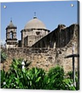 Spring At The Mission Acrylic Print