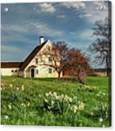 Spring At The Paine House Acrylic Print