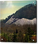 Spring Begins At Glassy Mountain Acrylic Print