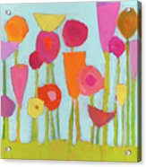 Spring Blooms Acrylic Print