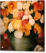Spring Bouquet Acrylic Print