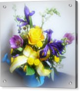Spring Bouquet Acrylic Print by Sandy Keeton