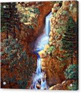 Spring Cascade Acrylic Print