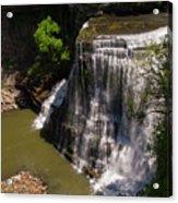 Spring Color At Burgess Lower Falls Acrylic Print