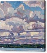 Spring Cumulus Acrylic Print