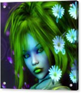 Spring Elf Acrylic Print