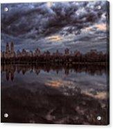 Spring Evening Central Park Nyc 2 Acrylic Print