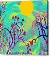 Spring Fantasy Acrylic Print