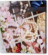 Spring Flowers Box Acrylic Print