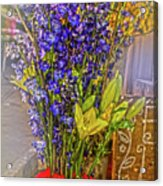 Spring Flowers For Sale Acrylic Print