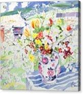 Spring Flowers On The Island Acrylic Print