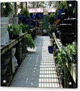 Spring Garden Center Acrylic Print