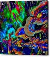 Spring Garden Festival Acrylic Print