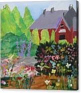 Spring Garden Acrylic Print