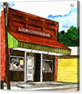 Spring General Store Sharpsburgh Iowa Acrylic Print