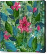 Spring Green Acrylic Print