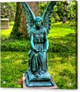 Spring Grove Angel Acrylic Print