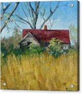 Spring Hay Acrylic Print