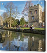 Spring In Canterbury Acrylic Print
