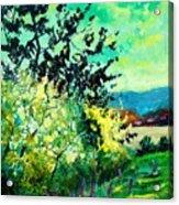 spring in Ciergnon Acrylic Print