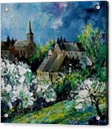 Spring In Fays Famenne Acrylic Print
