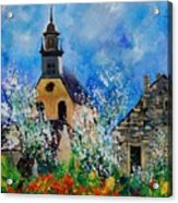 Spring In Foy Notre Dame Dinant Acrylic Print