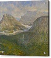 Spring In Glacier National Park Acrylic Print