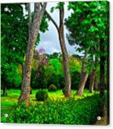 Spring In Madrid Acrylic Print
