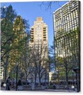 Spring In Philadelphia - Rittenhouse Square Acrylic Print