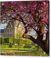 Spring In The Garden Acrylic Print
