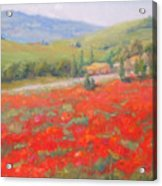 Spring In Tuscany Acrylic Print