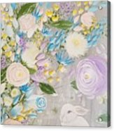 Spring Into Easter Acrylic Print