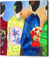 Spring Kimono Acrylic Print