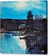 Spring Lake Nocturn Acrylic Print