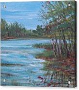 Spring Lake Acrylic Print