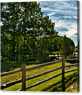 Spring Landscape In Nh 2 Acrylic Print