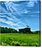 Spring Landscape In Nh 4 Acrylic Print