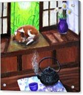 Spring Morning Tea Acrylic Print