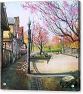 Spring On Clarke Street Port Moody Acrylic Print