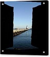 Spring Point Ledge Light - Portland Mane Usa Acrylic Print