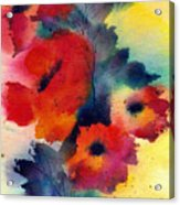 Spring Quartet Acrylic Print
