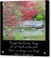 Spring Revival Acrylic Print