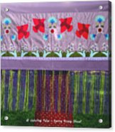 Spring Rising Acrylic Print
